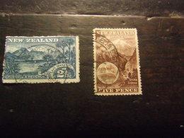 NUOVA ZELANDA 1898 VEDUTE USATO - 1855-1907 Colonia Britannica