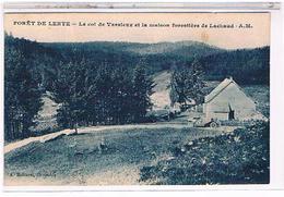 69  FORET  DE  LENTE  LE  COL  DE  VASSIEUX  ET  LA  MAISON  FORESTIERE  DE  LACHAUD+  HOMME  ET  TACOT  1T577 - Otros Municipios