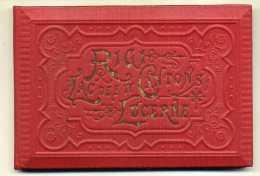 CARNET :  SUISSE-RIGI-LAC DES IV CANTONS-LUCERNE-carnet Rigide Avec 32 Vues Dépliant Accordéon -Carl KUNZLI à ZURICH - LU Lucerne