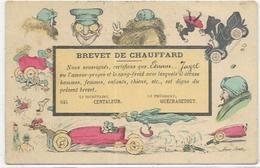 ILLUSTRATEURS.  SAGER XAVIER. CARTE BREVET DE CHAUFFARD - Sager, Xavier