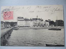 ARCACHON / LE CASINO DE LA PLAGE / 1906  / BELLE CPA - Arcachon