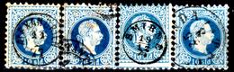 Levante-Austriaco-29 - 1867 - Y&T N. 4 (o) - Senza Difetti Occulti. - Oriente Austriaco
