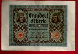 Billet De Banque Allemagne Reichsbanknote 100 Hundert Mark 1-11-1920 - [ 3] 1918-1933 : République De Weimar