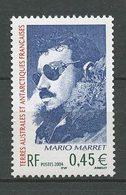 TAAF 2004  N° 391 ** Neuf MNH Superbe Cote 2 € Mario Marret Portrait - Franse Zuidelijke En Antarctische Gebieden (TAAF)