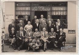 LANDES - DAX - Le Thiers - Anciens Du 150 R.I. Rèunis Le 6 Juillet 1952  PRIX FIXE - Places