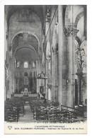 CLERMONT-FERRAND  (cpa 63)  Intérieur De L'Eglise N.D. Du Port - Clermont Ferrand