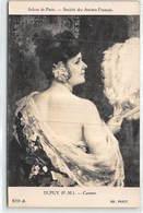 Salons De Paris Societe Des Artistes Francais Dupuy P.M. Carmen - Tres Bon Etat - Otros