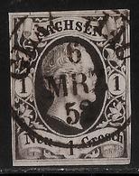 """Sachsen, 1852 """" Glauchau """"  , # A87 - Sachsen"""
