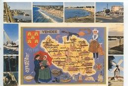 Vendée Géographique - L'Aiguillon La Faute Sur Mer (multivues) - Frankrijk