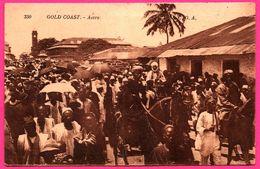 Gold Coast - Une Rue D'Accra Qui Va Au Marché - Rois à Cheval - Très Animée - L.L. - 1929 - Ghana - Gold Coast