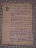Rare Autographe écrivain SF Arnould GALOPIN Sur Contrat D'édition Avec Ficker - Millénaire De La NORMANDIE 1911 - Autographes