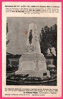 Monument Des 14 ème Et 214 ème R.I. - Caserne Niel à Toulouse - Fort De Loncin - Fort De Souville - Le Colonel Pfister - Toulouse
