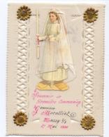 Devotie - Devotion - Communie Communion - Geneviève Racolliet - Mussy Sur Seine 1906 - Celluloid - Kommunion Und Konfirmazion
