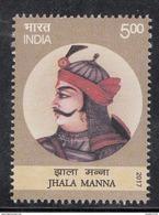 INDIA 2017, Jhala Manna, Rajput Noble Of Maharana Pratap, 1v MNH (**) - Inde