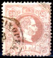 Levante-Austriaco-31 - 1867 - Y&T N. 7 (o) - Dentellato 12 - Senza Difetti Occulti. - Oriente Austriaco