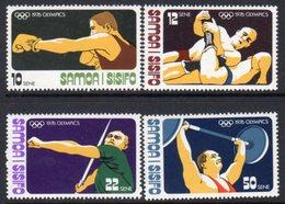 Samoa 1976 Olympic Games Set Of 4, MNH, SG 470/3 - Samoa