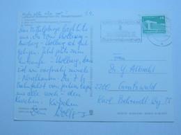 1982 , Sangerhausen - Buntmetallzentrum  , Propagandastempel Auf Karte - DDR