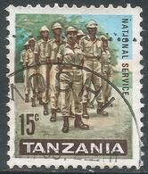 Tanzania. 1965 Definitives. 15c Used. SG 130 - Tanzania (1964-...)