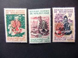 Mauritania Mauritanie 1962 Aide Aux Réfugiés Yvert 154 H / 154 K ** MNH - Refugiados