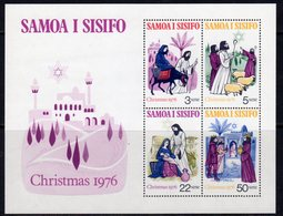 Samoa 1976 Christmas MS, MNH, SG 478 - Samoa