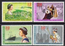 Samoa 1977 Royal Silver Jubilee Set Of 4, MNH, SG 479/82 - Samoa