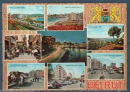 LIBANO  -- BEIRUT  VEDUTE -- VIAGGIATA - Libano