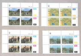 South West Africa 1986 Caprivi Set Of MNH Stamps In Blocks - Stamps