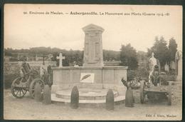 Le Monument Aux Morts (Guerre 1914-18) - Aubergenville
