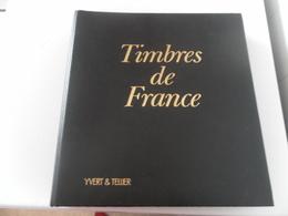 CLASSEUR YVERT ET TELLIER NOIR A BANDE NOIRES 7 Bandes - Albums Met Klemmetjes