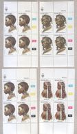 South West Africa 1984 Hair And Heads Stamps In Blocks MNH - Stamps
