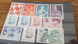 LOT 390767 TIMBRE DE MONACO NEUF** LUXE FACIALE 12 EUROS - Colecciones & Series