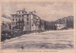CANTONIERA PRESOLANA (BG) - ALBERGO FRANCESCHETTI  - E - F/G - V - Otras Ciudades