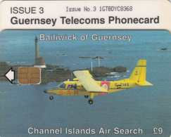 Guernsey Phonecard - £9 Search & Rescue - Superb Fine Used Condition (Type 11) - [ 7] Jersey Und Guernsey
