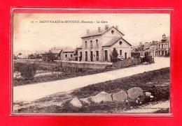 50-CPA SAINT VAAST LA HOUGUE - Saint Vaast La Hougue