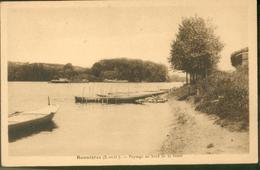 Paysage Au Bord De La Seine - Bonnieres Sur Seine