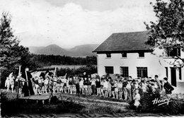 CPA - BELMONT-sur-BUTTANT (88) - Aspect Du Rassemblement Devant La Colonie De Laxou En 1952 - Other Municipalities