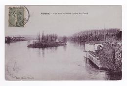 27 Vernon Vue Sur La Seine Prise Du Pont En 1920 édit Mony à Vernon - Vernon