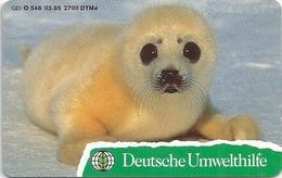 Germany - Deutsche Umwelthilfe Heuler Seal - O 0548 - 03.95, 2.700ex, Mint (check Photos!) - O-Serie : Serie Clienti Esclusi Dal Servizio Delle Collezioni