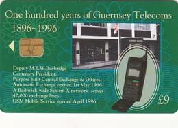Guernsey Phonecard - £9 Telecoms - Superb Fine Used Condition - Ver. Königreich