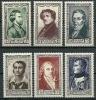 """FR YT 891 à 896 """" Célébrités Du XIXe Siècle """" 1951 Neuf** - Unused Stamps"""