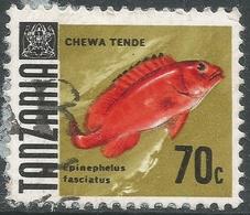Tanzania. 1967 Definitives. 70c Used. SG 150 - Tanzania (1964-...)