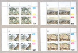South West Africa 1987 History Of SWA Stamps In Blocks MNH - Stamps