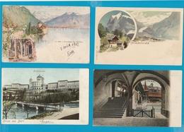 ZWITSERLAND Lot Van 200 Postkaarten - Postcards