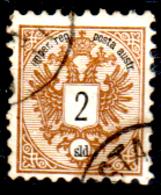 Levante-Austriaco-33 - 1883-86 - Y&T N. 8 (o) - Senza Difetti Occulti. - Oriente Austriaco