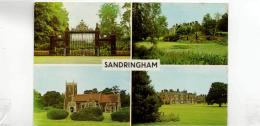 Postcard - Sandringham 4 Views - Card No.plc13907 - Unused Very Good+ - Unclassified