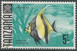 Tanzania. 1967 Definitives. 5/- Used. SG 155a - Tanzania (1964-...)