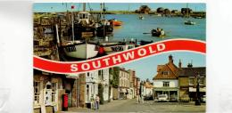 Postcard - Southwold 2 Views - Card No.78 - Posted 21st Aug 1979 Very Good - Unclassified