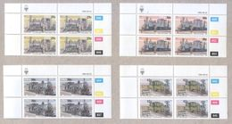 South West Africa 1985 Railway Locomotives Blocks Of Stamps MNH - Stamps