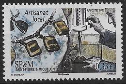 2011  Saint Pierre Et Miquelon  N° 1006 à 1009  Nf** MNH . (1 Coin Daté ) - St.Pierre & Miquelon