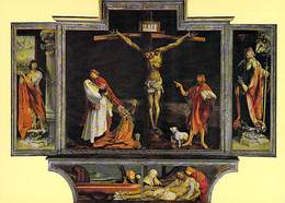 68 - COLMAR - Musee D'Unterlinden Mathias Neithart Dit Grunewald Retable D'Issenheim 1510 1518 Ticket Entrée Au Dos - Colmar